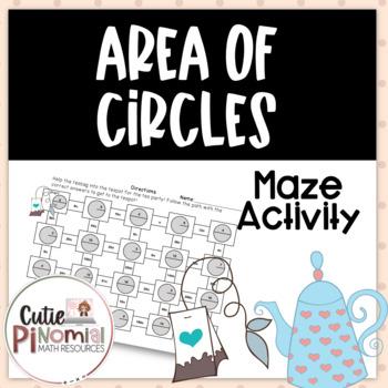 Area of Circles - Maze Activity