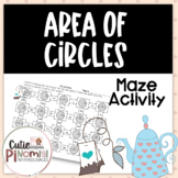 Area of Circles - Maze Activity