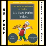 Area and Circumference of Circles Project - Create Your Own Pizza Parlor