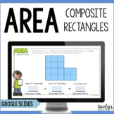 Area of Composite Figures Digital Task Cards