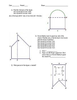 Area of Complex Figures