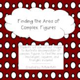 Area of Complex Figures Bundle