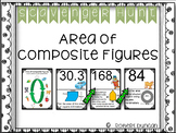 Area of Composite Figures - Scavenger Hunt