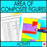 Area of Composite Figures Activity