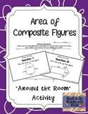 "Area of Composite Figures ""Around the Room"" Activity"
