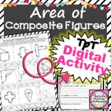 Area of Composite Figures Worksheet Distance Learning Digi