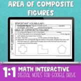 Area of Composite Figures Digital Math Notes