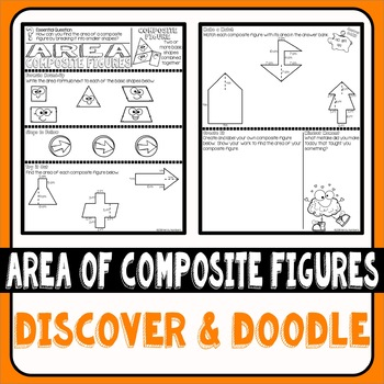 Area of Composite Figures Doodle Notes