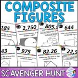 Area of Composite / Irregular Figures Scavenger Hunt