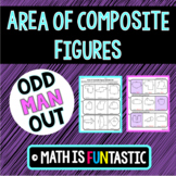 Area of Composite Figures Odd Man Out