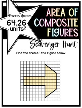 Area of Composite Figures (Scavenger Hunt)