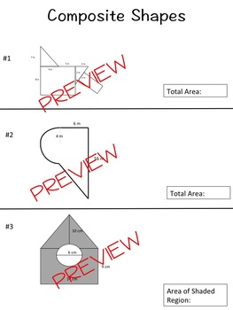 surface area and volume geometry tesccc