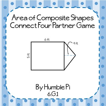 Area of Composite Shapes Partner Game-6.G.1