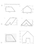 Area of Composite figures (irregular or complex figures)