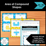 Area of Compound Shapes Task Cards