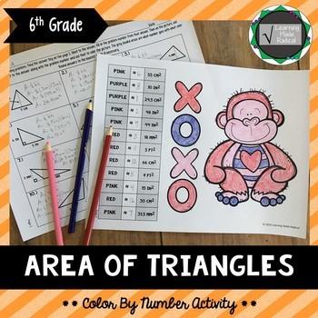 Area of Geometrical Shapes Bundle (Parallelogram, Rhombus, Trapezoid & Triangle)