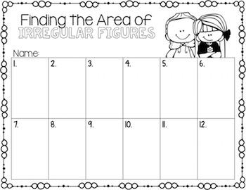 Area of Irregular Figures