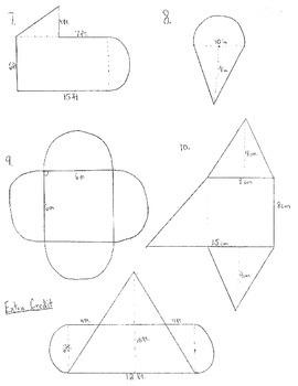 Area of Irregular Figures Quiz