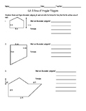 Area of Irregular Polygons Worksheet