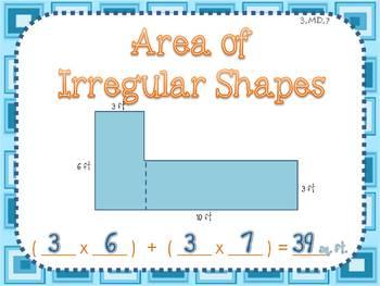 Area of Irregular Shapes by BeachyTeach | Teachers Pay Teachers