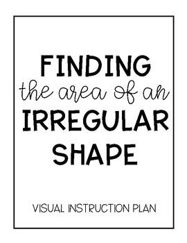 Area of Irregular Shapes Anchor Chart