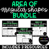 Area of Irregular Shapes Resource Bundle