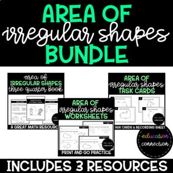 Area of Irregular Shapes Resource Bundle