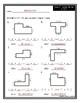 Area of Irregular Shapes Worksheets