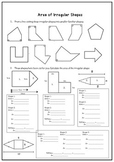 Area of Irregular/Composite Shapes