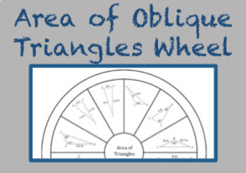 Area of Oblique Triangles