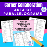 Area of Parallelograms  Corner Collaboration