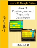 Area of Parallelograms and Trapezoids DIGITAL Activity for