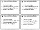 Area of Polygons and Volume of Rectangular Prisms Riddle Task Cards