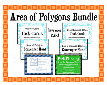 Area of Polygons Bundle