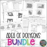 Area of Polygons Bundle