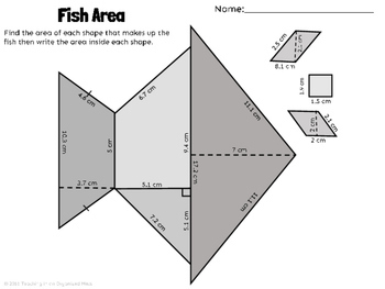 Area of Polygons--Rectangles, Parallelograms, Triangles, and Trapezoids