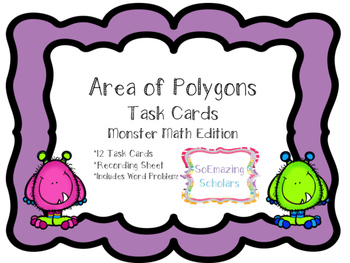Area of Polygons Task Cards