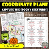 Area of Polygons in the Coordinate Plane Capture the Spook
