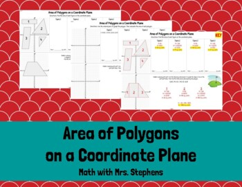 Area of Polygons on a Coordinate Plane