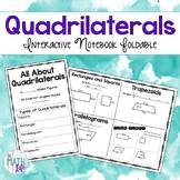 Area of Quadrilaterals Foldable
