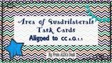 Area of Quadrilaterals Task Cards