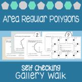 Area of Regular Polygons {Scavenger Hunt}