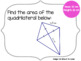 Area of Quadrilaterals and Triangles {Scavenger Hunt}