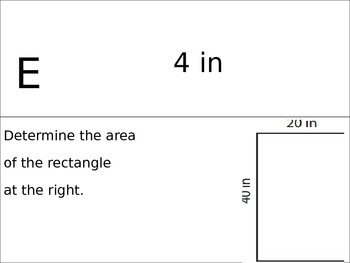 Area of Quadrilaterals and Triangles and Volume Search and Rescue