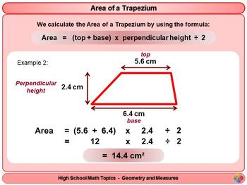 Area of Quadrilaterals for High School Math