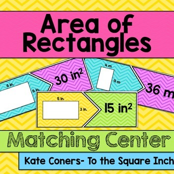 Area of Rectangles Center
