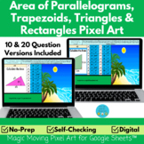 Area of Rectangles, Parallelograms, Trapezoids and Triangl