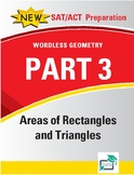 Area of Rectangles and Triangles - 34 pages 224 questions