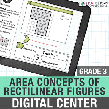 Area of Rectilinear Figures - Interactive Digital Math Center
