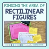 Area of Rectilinear Shapes Task Cards